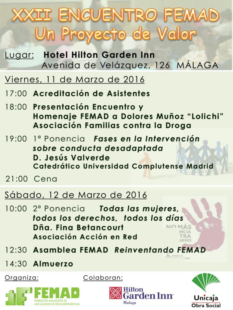 Encuentro FEMAD 2016